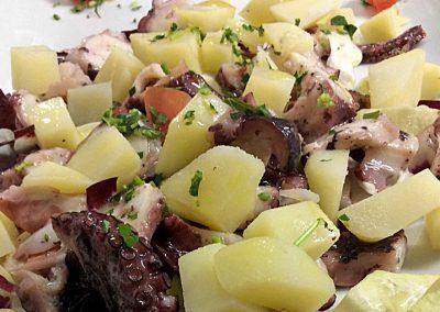 Insalata di piovra e patate